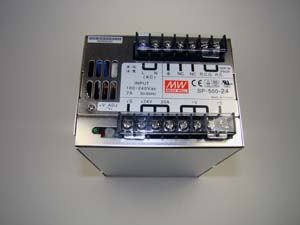 OEM,POWER SUPPLY 24V 500W  DC SWITCH MODE, AC INPU