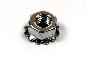 Nuts for Line Feed Motor and L-shaped bracket