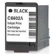 BLACK Inkjet Cartridge (HP C6602A)